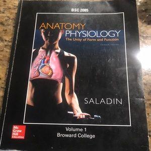 Anatomy Physiology BSC 2085 Textbook